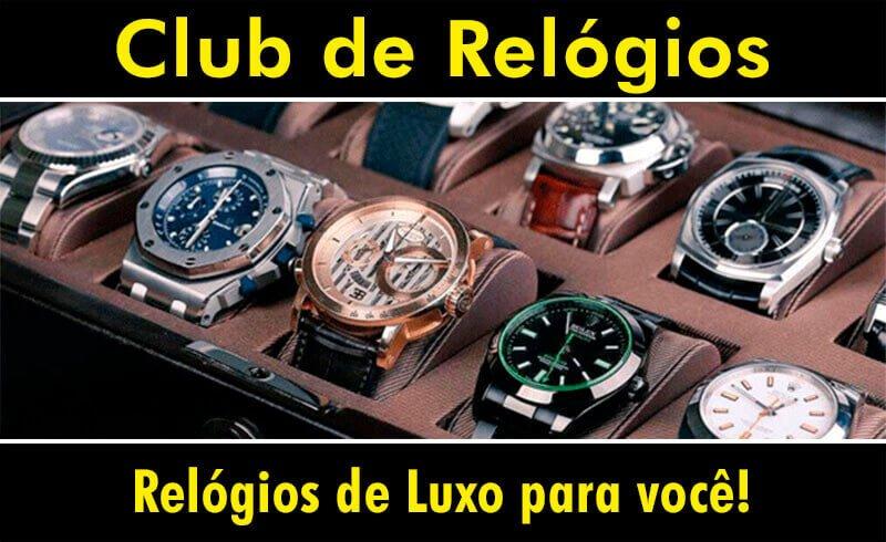 02249ff4447 Club de Relógios - Lojas Santa Efigênia