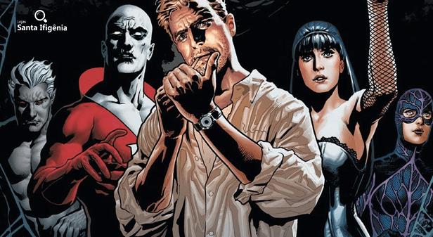 Membros da Liga da Justiça Sombria nos quadrinhos