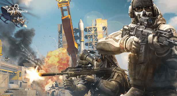 Cenas do jogo Call of Duty Mobile