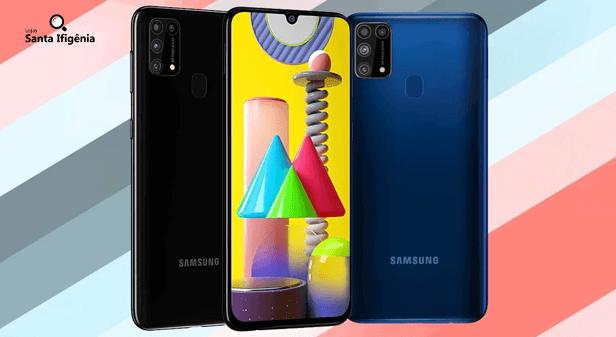 Celulares da linha Samsung Galaxy M31