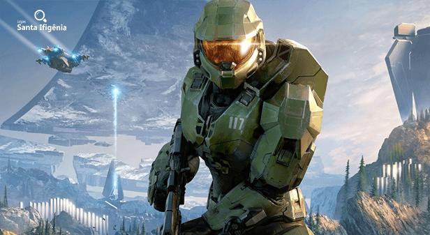 Master Chief em Halo Infinite