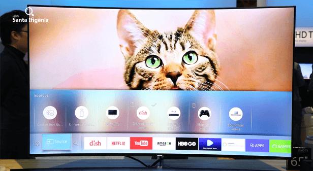 televisão com aplicativos - tv box
