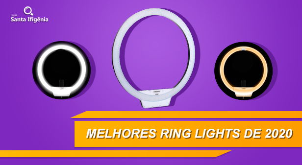 Ring Light - Mellhores Ring Lights de 2020