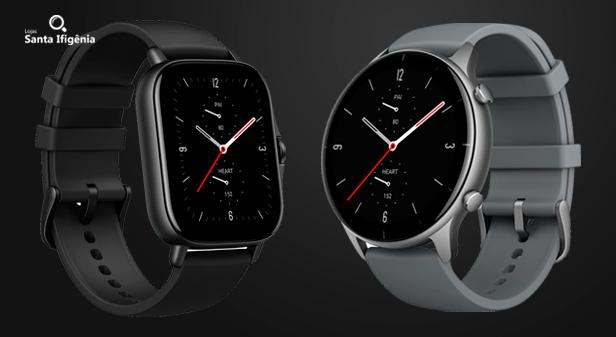 Amazfit GTS 2e e GTR 2e - Novos Smartwatches da Xiaomi